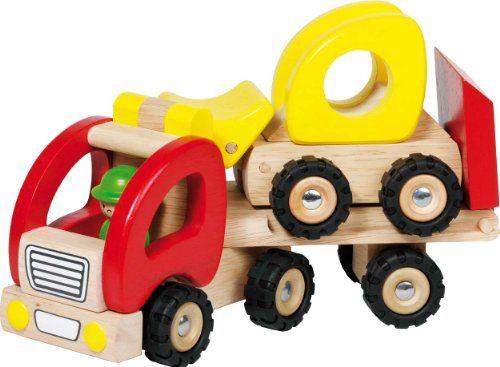 Goki 55964 - Mini Müllwagen: Amazon.de: Spielzeug
