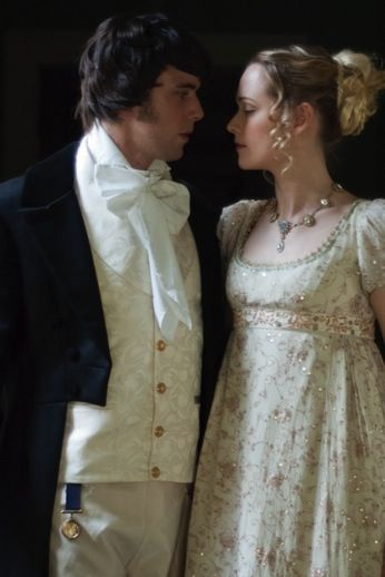 Regency-Couples (1811-1820) | Richard Jenkins Photography DETAILS: His neck-cloth is far too ostentatious (it's tied in an 1830s or 1840s style) and his waistcoat is too long. Otherwise, very nice pic