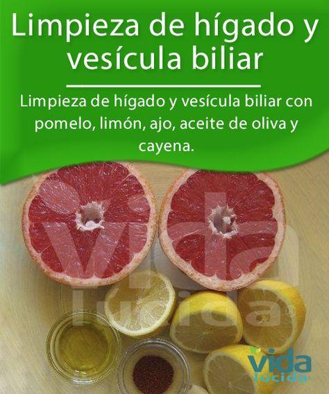 Limpieza del hígado y la vesícula biliar