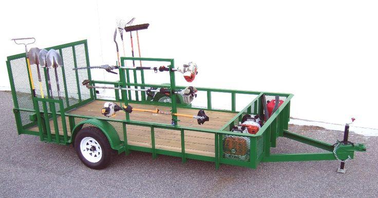 PROBUILT TRAILERS Lawn care business, Lawn care, Lawn