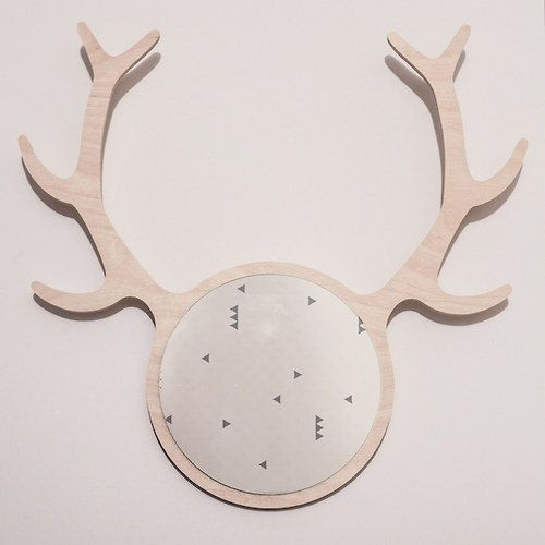 DEER FRIEND mirror by KATLA / deer