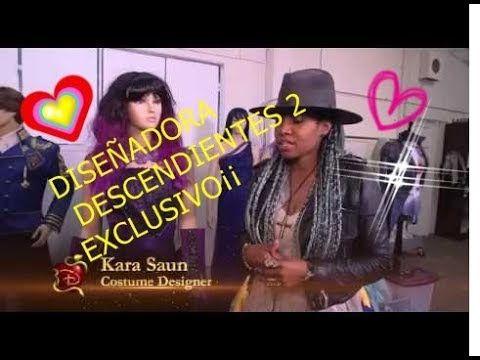 KARA SAUN DISEÑADORA DE  DESCENDIENTES 2 EN  EXCLUSIVO¡¡