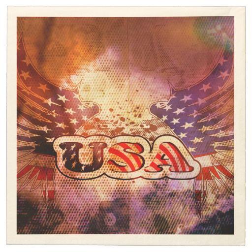 #USA, #napkins