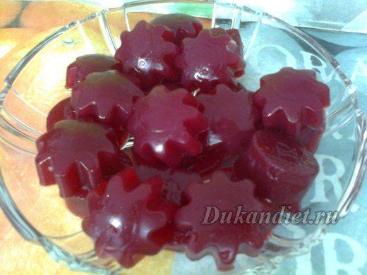 Клубничное желе без сахара на желатине и агар агаре для диеты.