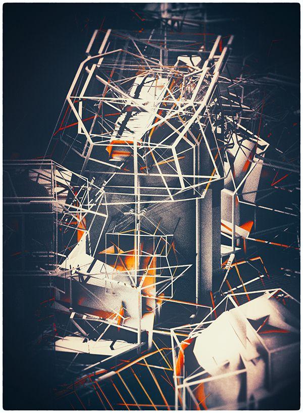 SCAFFOLDING by atelier olschinsky , via Behance