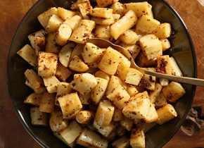 Honey-Mustard Parsnips Recipe (add bacon?)
