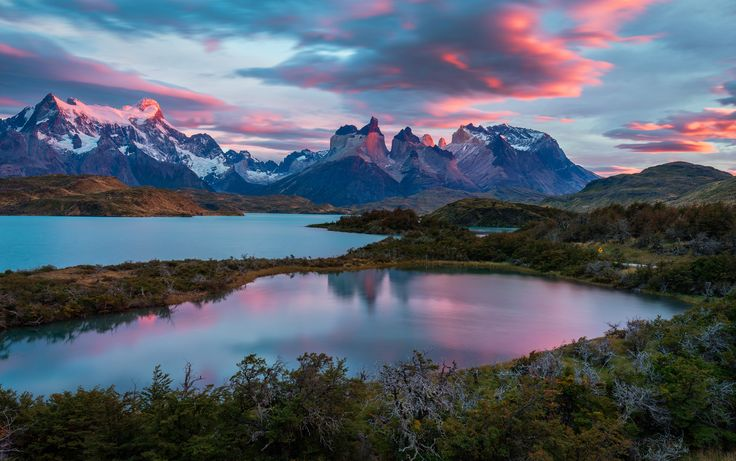 Nature splendor - Parque Torres Del Paine, Chile.