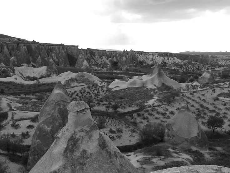 Turkey - Typical landscape in Cappadocia (photo by Carla Iaconetti)