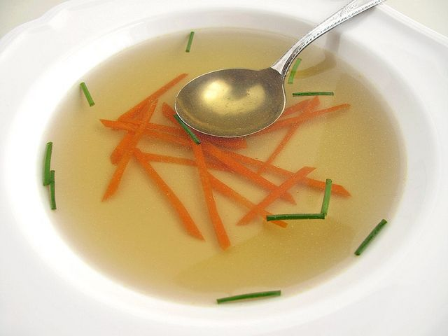 consomme by The Gastronomer, via Flickr