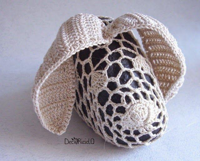 decoriciclo: Coniglio di sasso e cotone