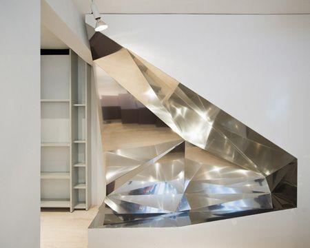 Dezeen » Blog Archive » Antonios Markos Conceptual Boutique by Gonzalez Haase