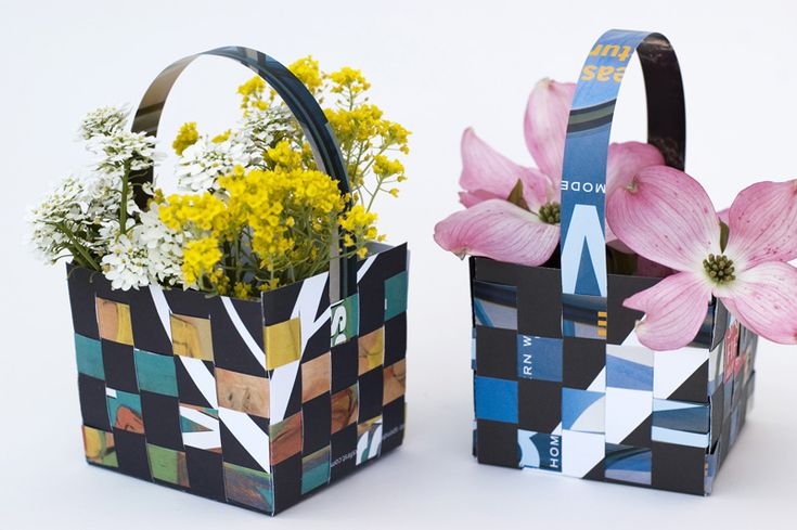 Small May Day baskets