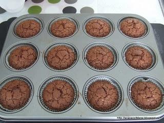 by Acasa Colt de Rai-Chocolate trio muffins (in English)