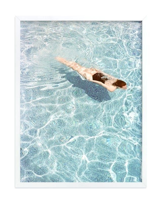 Swimming Pool Artwork Going For A Swim Wall Art Prints By Deal Swimming Pool Artist Pool Art Wall Art Prints Pool Artwork