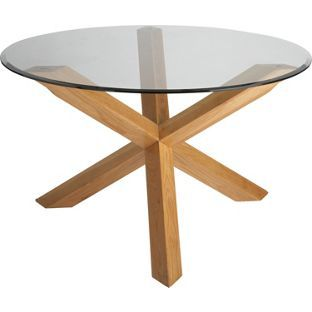 Best Glass Round Dining Table Ideas On Pinterest Glass
