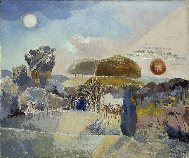 Landscape of the Vernal Equinox (III), Paul Nash