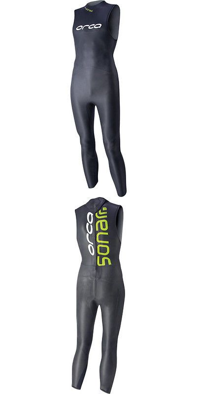 Other Swimwear and Safety 159150: New 2014 Orca Sonar Womens Sleeveless Triathlon Wetsuit - Closeout - Save 35% -> BUY IT NOW ONLY: $246.35 on eBay!