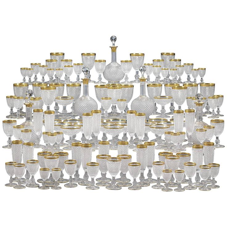 Baccarat Crystal 128-Piece Service