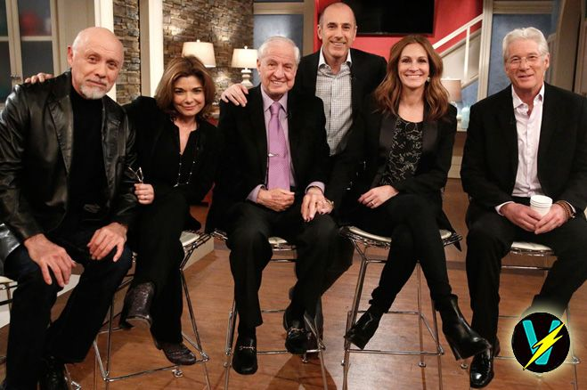 The #PrettyWoman cast reunite for 25 year anniversary! Guess who hasn't aged?  http://popdust.com/2015/03/18/pretty-woman-cast-25-year-anniversary/