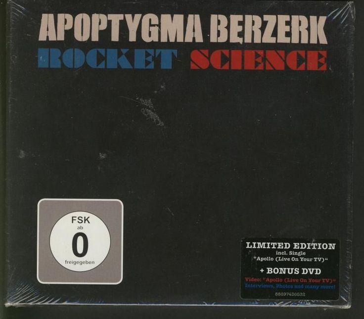 APOPTYGMA BERZERK Rocket Science LIMITED ED CD&DVD edition sealed