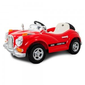 Auto dla dziecka na akumulator Roy Roy czerwone