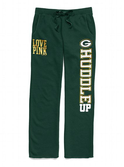 Green Bay Packers Boyfriend Pant - Victoria's Secret PINK® - Victoria's Secret