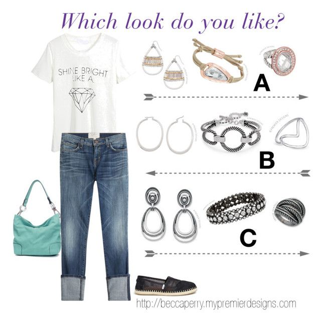 Casual Day by beccaperry on Polyvore featuring Premier Designs jewelry http://beccaperry.mypremierdesigns.com www.facebook.com/jewelryladybeccaperry
