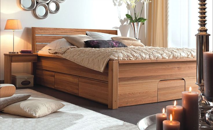 houten ledikant 180x200 - Google zoeken Schlafzimmerdesign - dream massivholzbett ign design
