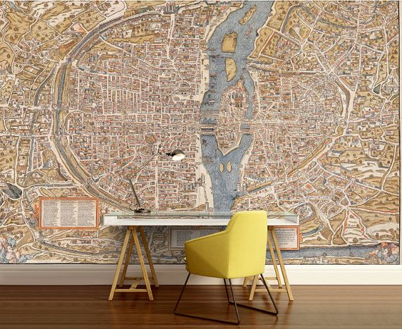 52 best world map wallpaper images on pinterest world map paris map wall mural vinly wall mural vintage old by 4kdesignwall world map wallpaperparis gumiabroncs Image collections