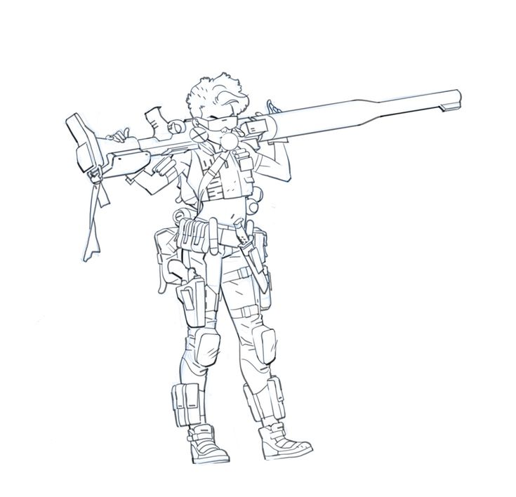 Character Design Intern : Best character pose shooting holding guns images