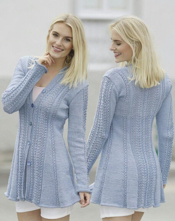 Garnstudio Photo Pattern / Hand Knitted Cardigan Sweater w ...