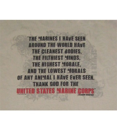 Eleanor Roosevelt Quote About Marines Brilliant The 25 Best Marine Corps T Shirts Ideas On Pinterest  Usmc T