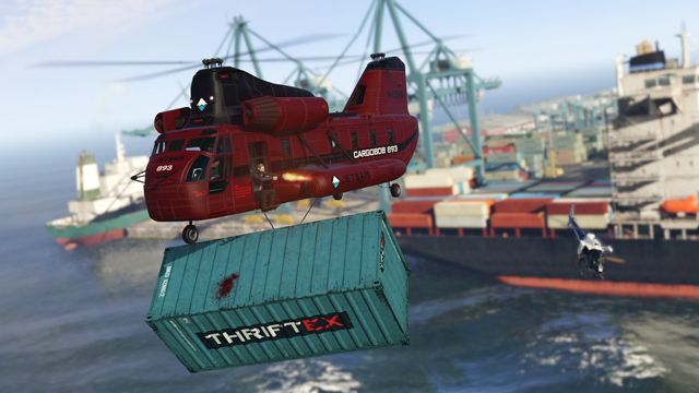 GTA Online Players Getting Free Money, Cargobobs
