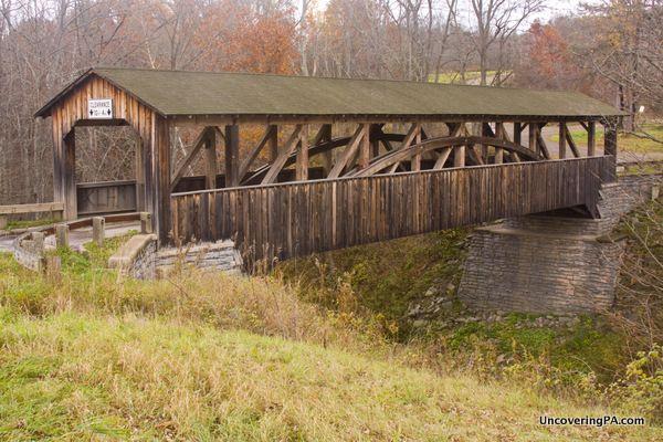 UncoveringPA | Visiting the Last Covered Bridge in Bradford County, Pennsylvania - UncoveringPA
