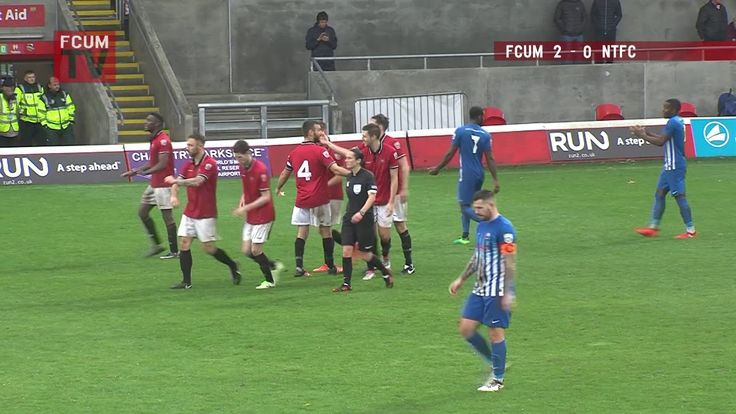 FCUM vs Nuneaton Town FC - Goals - 28-10-17