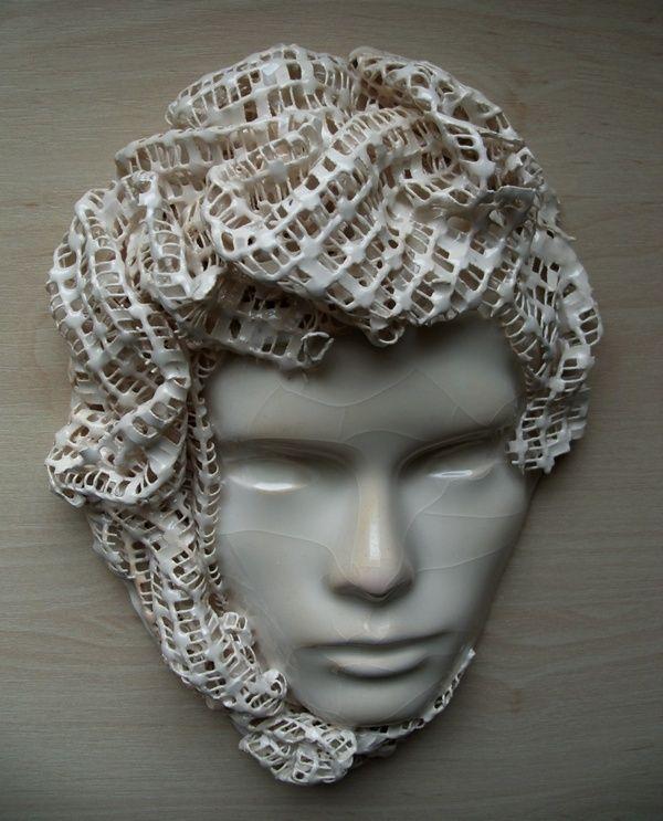 Maska ceramiczna/ Ceramic mask