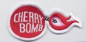 Vintage Style Red Cherry Bomb Punk Embroider Iron on Patch Girl Rockabilly 74 | eBay