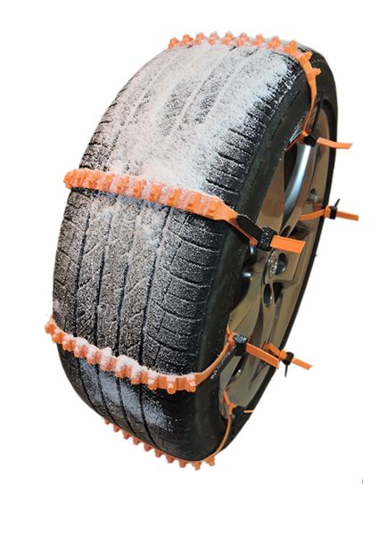 """Zip grip go snow zip ties for tires. Not world changing - just one of those """"why didn't anyone do this before"""" type of products!"""