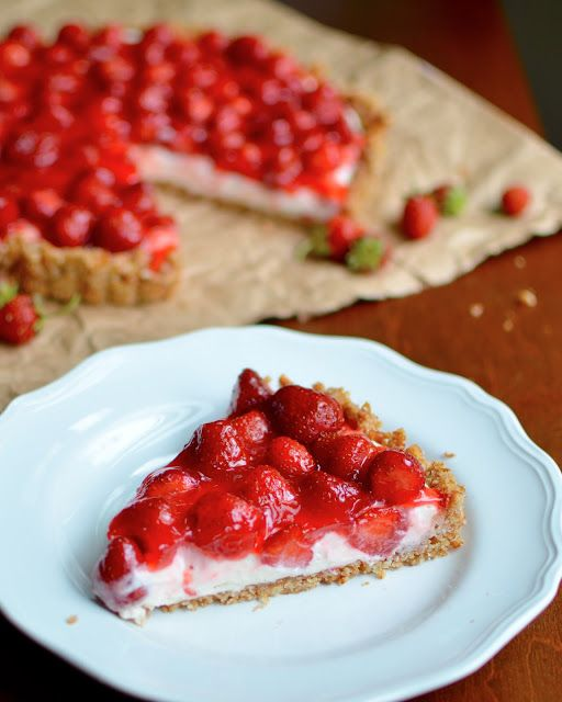 Strawberry Pretzel Tart | Recipe Index | Yammie's Noshery