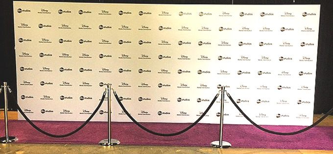 DIY Step and Repeat: How to Make a Step and Repeat Banner Yourself - Red Carpet Systems. For more information about step and repeat backdrops, go to http://www.redcarpetsystems.com/products-services/step-and-repeat-red-carpet-backdrop/