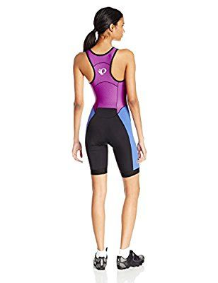 Pearl iZUMi Women's Elite Pursuit Tri Suit, Black/Clementine, X-Small