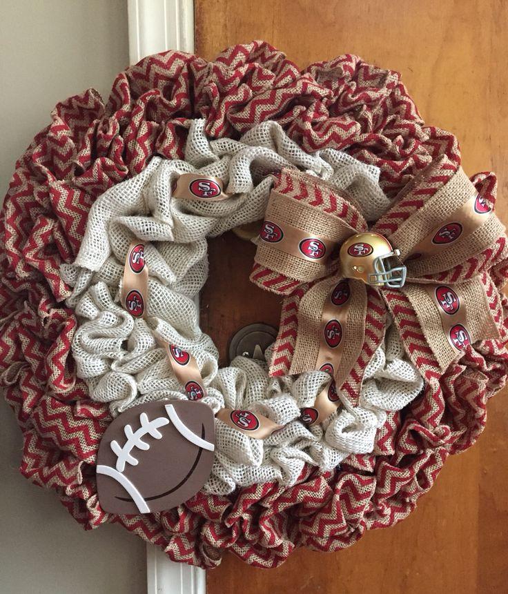 SF 49ers wreath