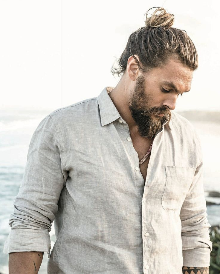 Jason Momoa Upbringing: Got That Man Bun Going On!!