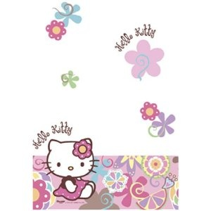 Fancy Dress Hello Kitty Bamboo Party Tablecover: Amazon.co.uk: Toys  Games