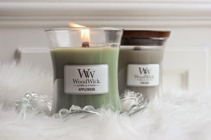 Craquez pour la douceur et la délicatesse des bougies WoodWick.