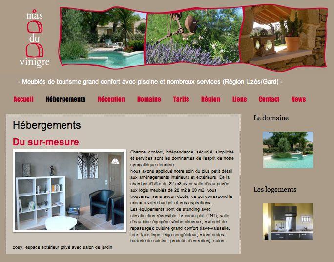 Mas Vinigre : Chambres d'hôtes de charme dans le Gard. http://masvinigre.com