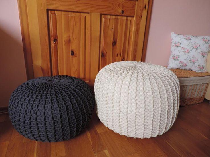 Úžitkový textil - Natural pufík pre Lenku - 3251066