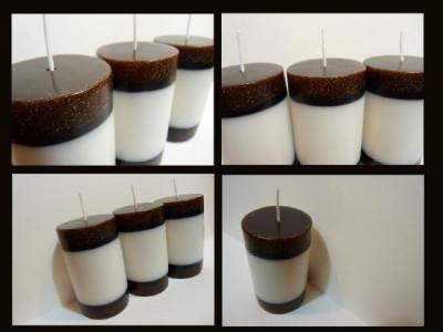velas aromaticas de puro diseño velas aromática (chocolate) parafina,colorantes para velas,esencia para velas velas y fanales,diseño y modelado