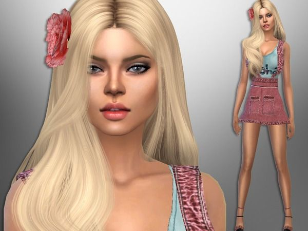 Monica Balan by divaka45 at TSR • Sims 4 Updates