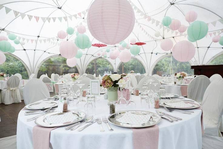 kule papierowe na ślub dekoracj sali weselnej - Szukaj w Google